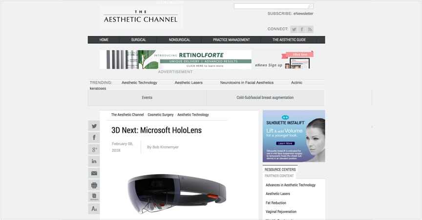 3D Next: Microsoft HoloLens