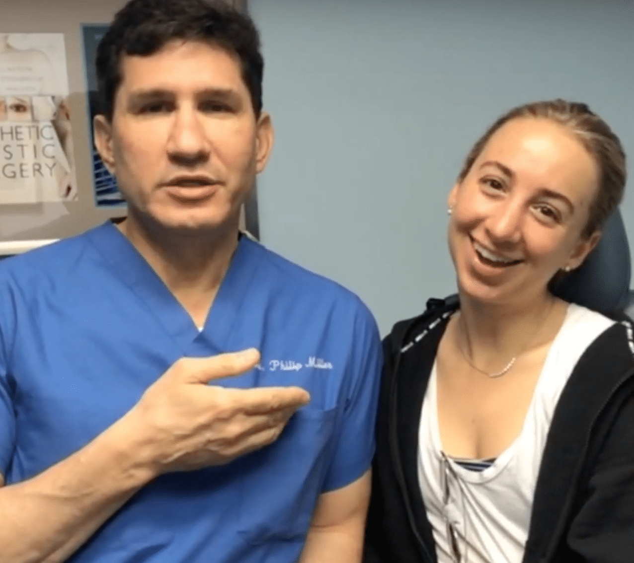 Claire's Nasal Obstruction is Removed by Dr. Philip Miller