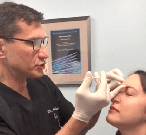 Dr. Philip Miller NYC: Botox Injection Demonstration