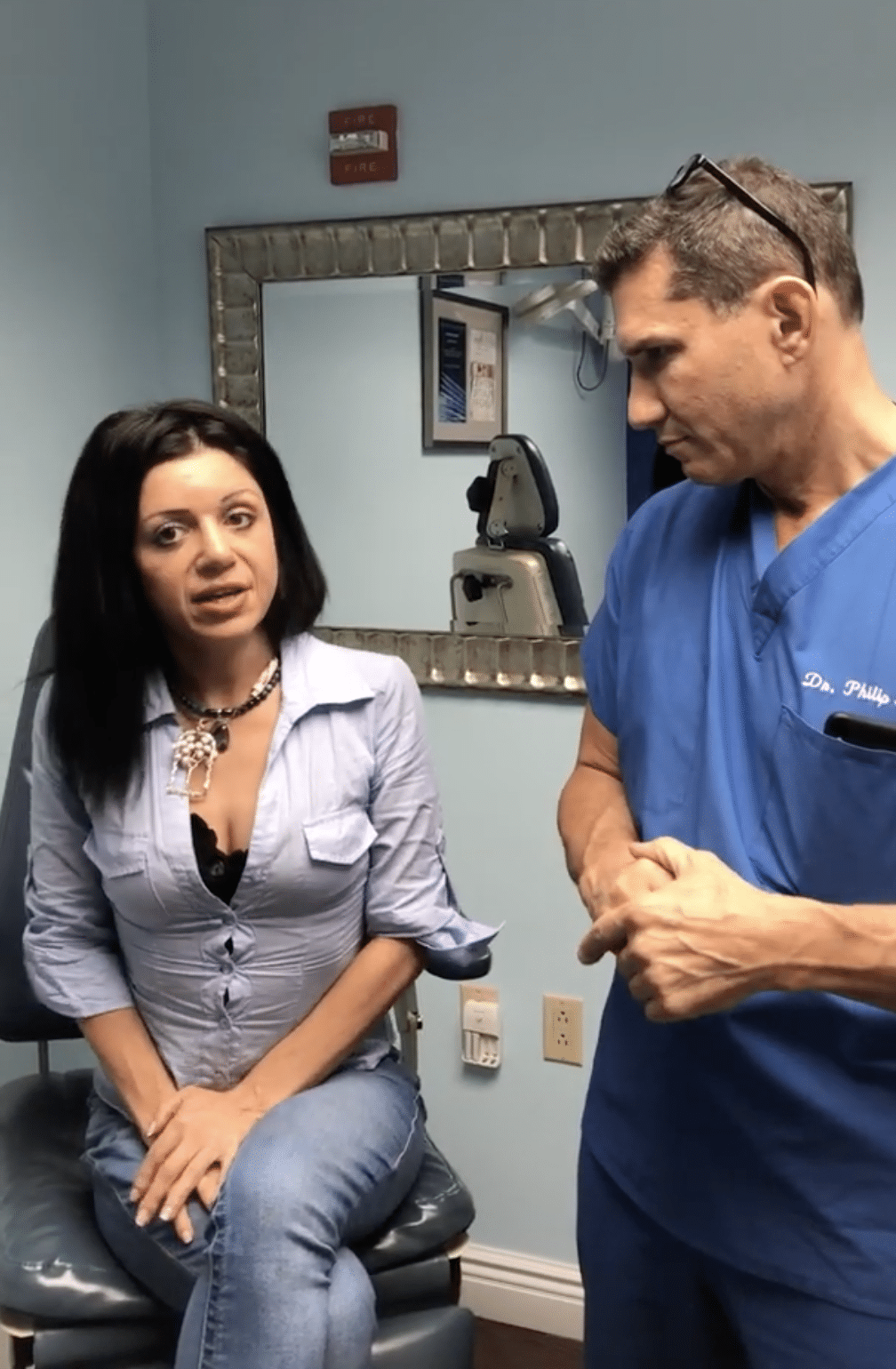 rhinoplasty nose surgery patient in new york